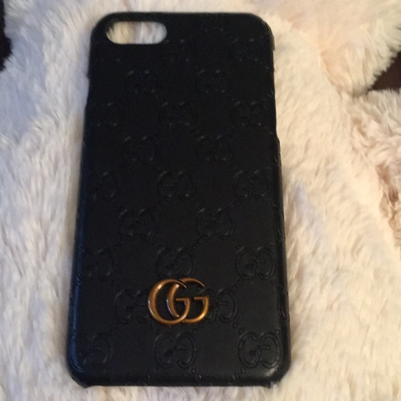 the latest a11e6 d702a Gucci Black phone case for iPhone 7/8